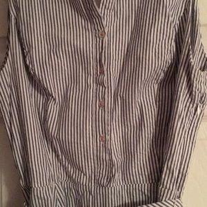 Cynthia Rowley Dresses - Striped nautical aline dress
